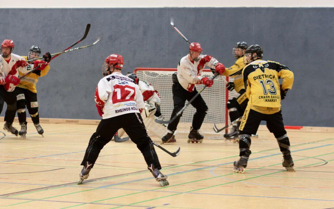 Saisonstart im Skaterhockey. Crash Eagles melden 12 Teams zum Spielbetrieb