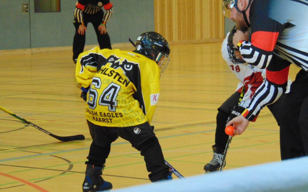 Schüler III verlieren gegen HC Köln-West Rheinos I mit 2:13 (1:4/1:3/0:6)