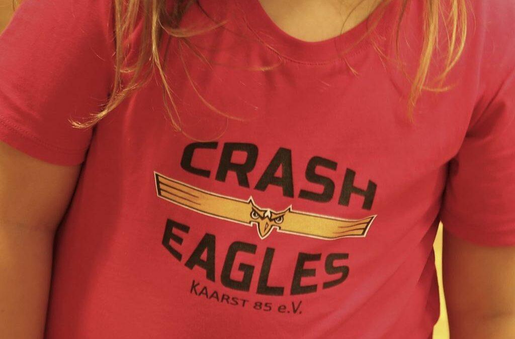 Klasse Kampfgeist der Crash Eagles Schüler III gegen die Köln West Rhinos